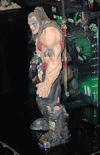 One of the action figures, forthcoming from Stan Winston Studios