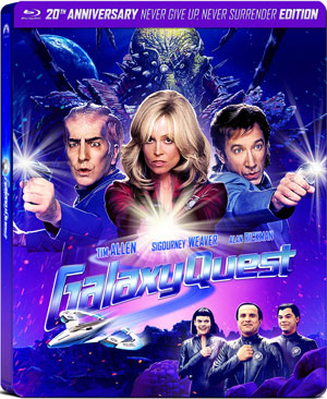 "Galaxy Quest"" intrepidly goes to a steel box version - DVD Review"
